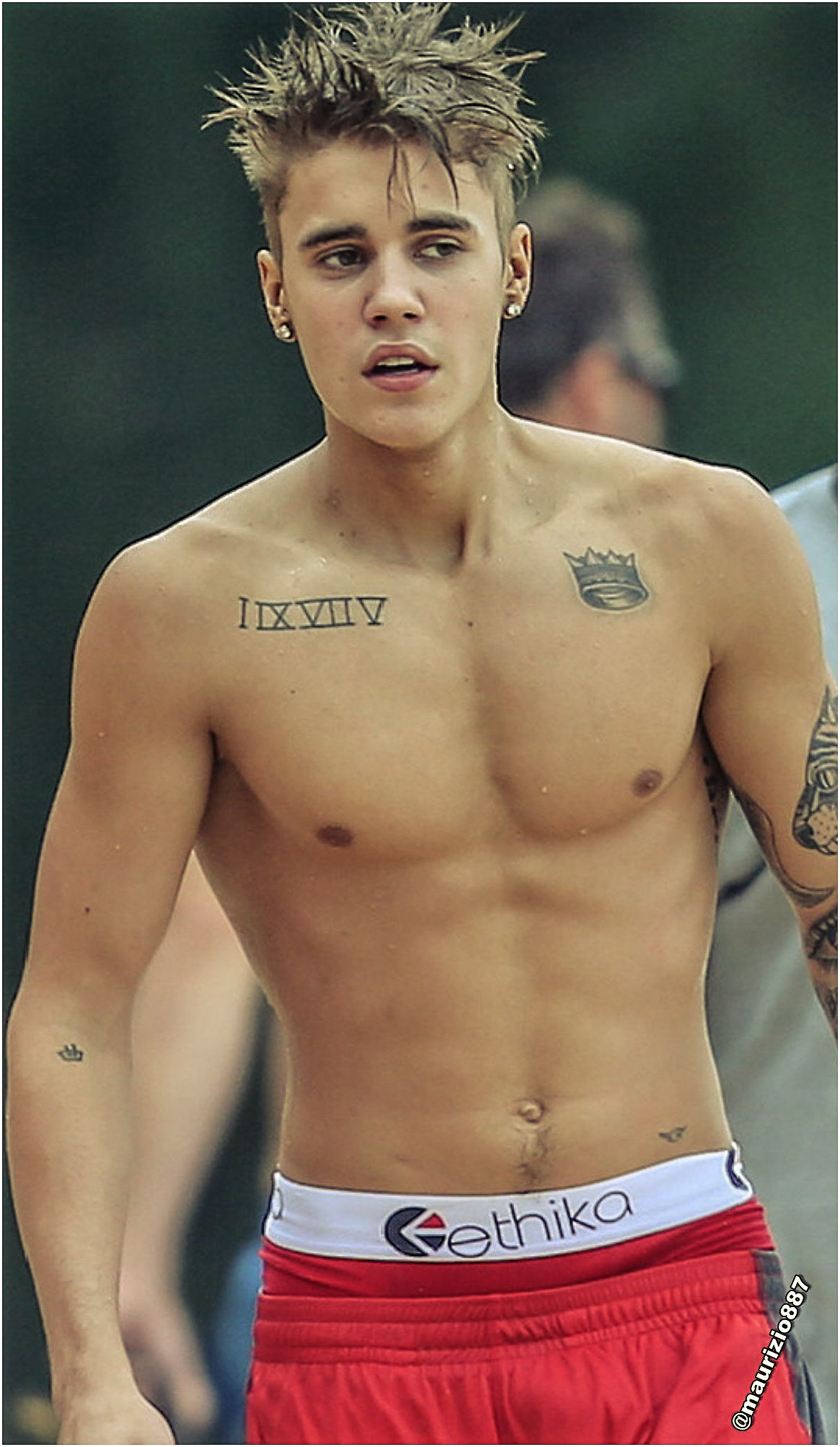 Justin Bieber Hawaii 2013