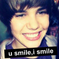 U smile - justin-bieber fan art