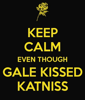 Gale and Katniss ๑
