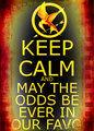 Keep calm and may the odds be ever in ur favor - keep-calm-and fan art