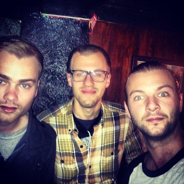 Dave, Josiah and Keith