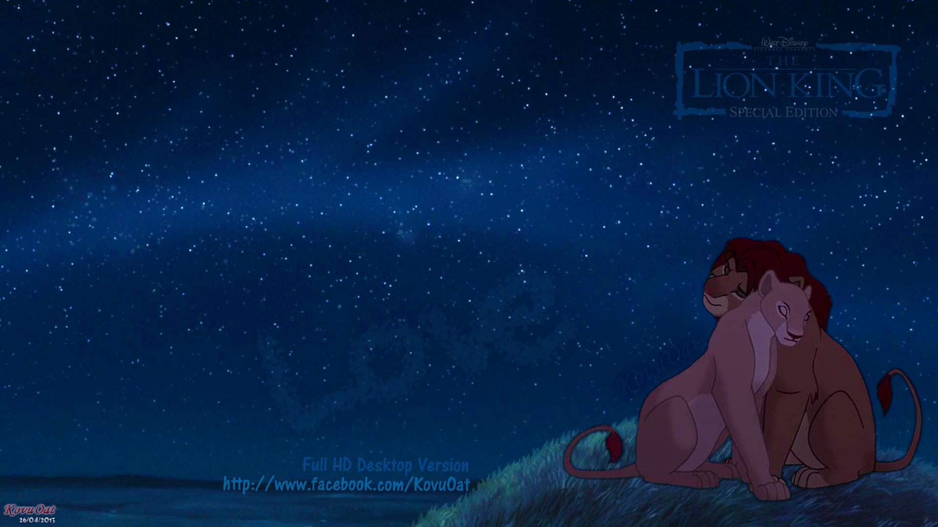 Kovu Oat Images Tlk Simba Nala Dark Night Love Wallpaper Hd Hd
