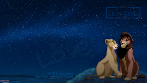 TLK Kovu Kiara Dark Night pag-ibig wolpeyper HD
