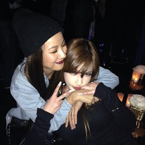 Lee Hyori and Park Bom
