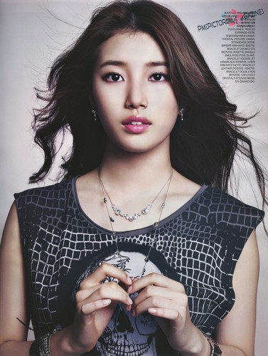 Kpop wallpaper entitled Miss A Suzy – Elle Magazine November Issue '13