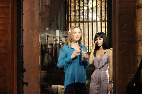 Lost Girl wallpaper containing a holding cell and a penal institution titled Ksenia & Zoie
