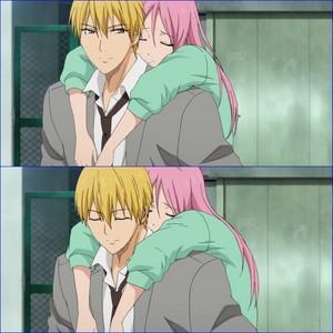 Kise and Momoi