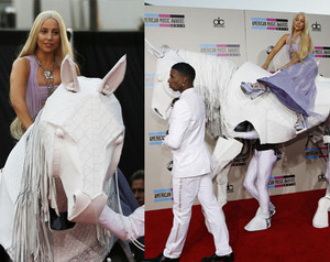 Lady GaGa American muziki Awards 2013