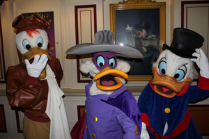 Launchpad with Darkwing & $crooge