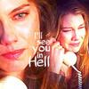 """Lauren Cohan as Bela Talbot in SPN """"Time is on my Side"""""""