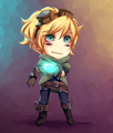 Chibi Ezreal - league-of-legends fan art
