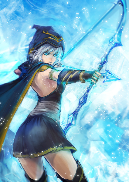 Ashe - League of Legends Fan Art (36163995) - Fanpop