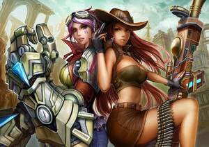 Vi and Caitlyn