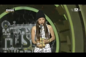 LEE HYORI WON BEST FEMALE ARTIST