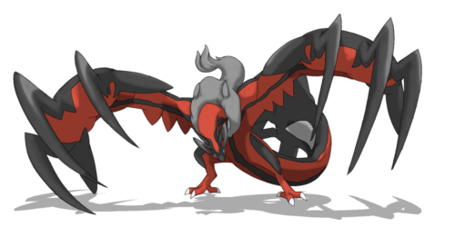maalamat pokemon wolpeyper possibly with a apoy called Yveltal sa pamamagitan ng ocaritna on deviantART
