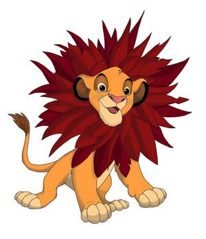 Young Simba TLK