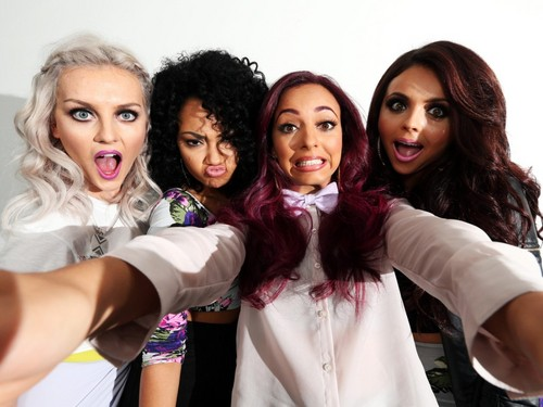 Little Mix wallpaper possibly with a blouse and a portrait titled Little Mix ♡