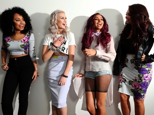 Little Mix wallpaper probably with bare legs, a playsuit, and hot pants entitled Little Mix ♡