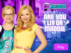 Liv and Maddie fond d'écran possibly with attractiveness and a chemise titled both nice twins