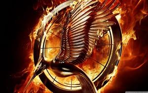 The Hunger Games: Catching আগুন দেওয়ালপত্র