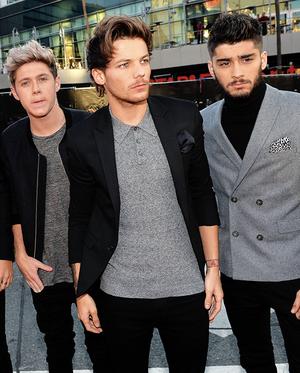 Louis, Zayn & Niall