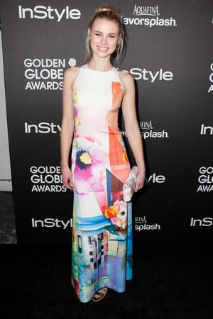 Zoey Deutch | HFPA and Instyle 2014 Golden Globe Awards Season Celebration.