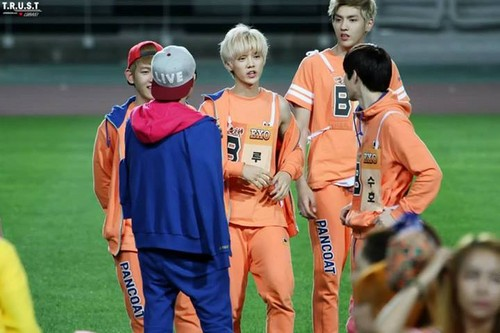 Luhan (루한) wallpaper called 130903 Idol Athletics Championship