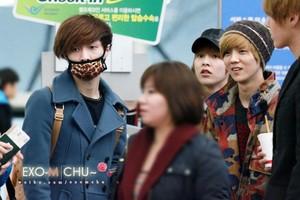 130119 LuHan @ Incheon Airport to NAIA