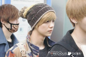 130119 LuHan @ Incheon Airport to NAIA