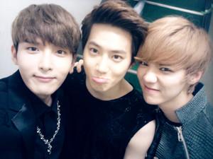 Ryeowook, Suho, Luhan
