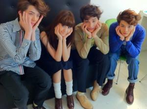 Sehun, Yoona, Kai, luhan