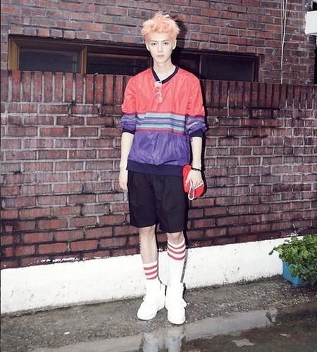 Luhan (루한) wallpaper entitled Luhan Growl