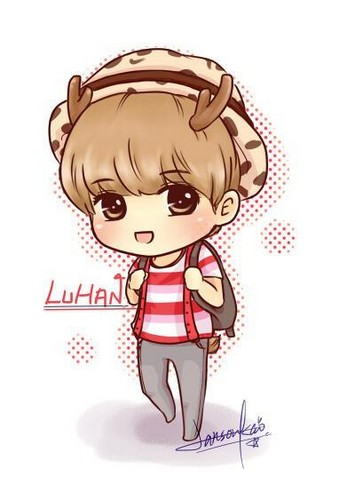 Luhan (루한) wallpaper containing anime titled Airport Fashion