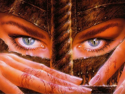 Dragon Lady Warrior  - luis-royo Wallpaper