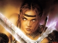 Warrior Lady  - luis-royo wallpaper