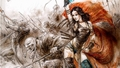 Female Warrior  - luis-royo wallpaper