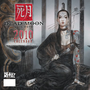 2010 Dead Moon Calendar Cover