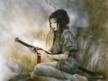 Luis Royo Lady - luis-royo wallpaper