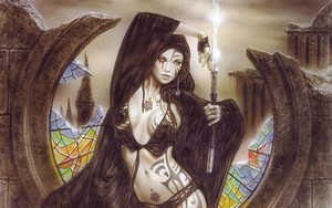 Luis Royo Lady