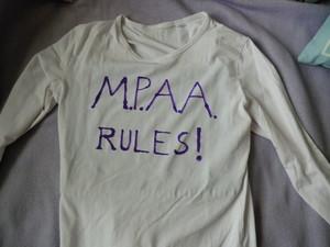 MPAA RULES! T-shirt