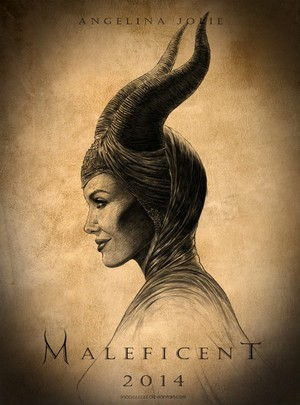 Maleficent peminat made poster