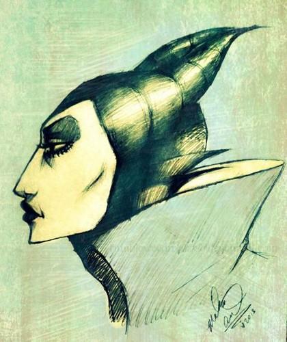 Maleficent achtergrond called maleficent