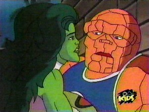 She Hulk and The Thing