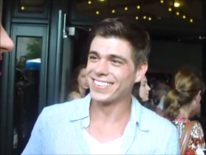 Matthew Lawrence smiling