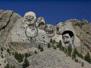 Mount Rushmore meme