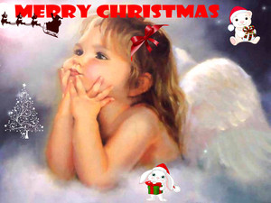 Merry krisimasi Little Angel