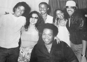 Michael Jackson and friends