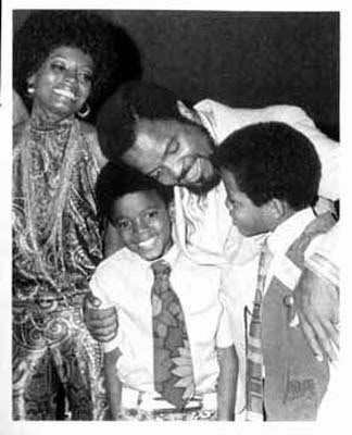 Michael With Family An vrienden