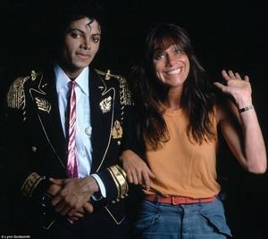 Michael Jackson and Lynn Goldsmith