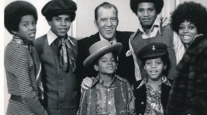 The Jackson With Ed Sullivan And Diana Ross